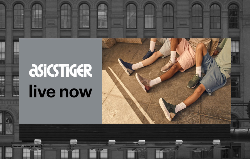 ASICS Tiger Billboard 2