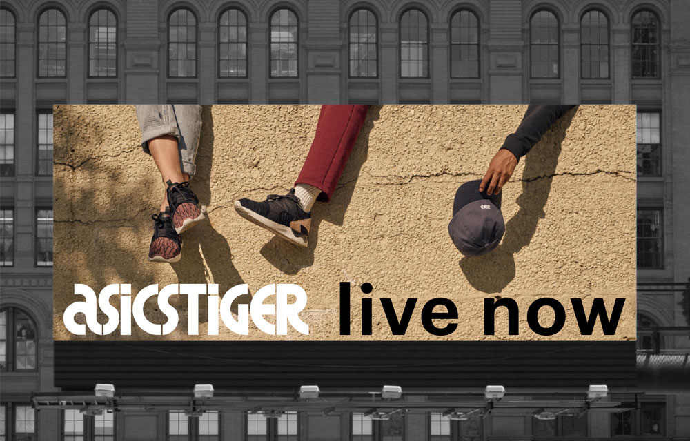 ASICS Tiger Billboard 5