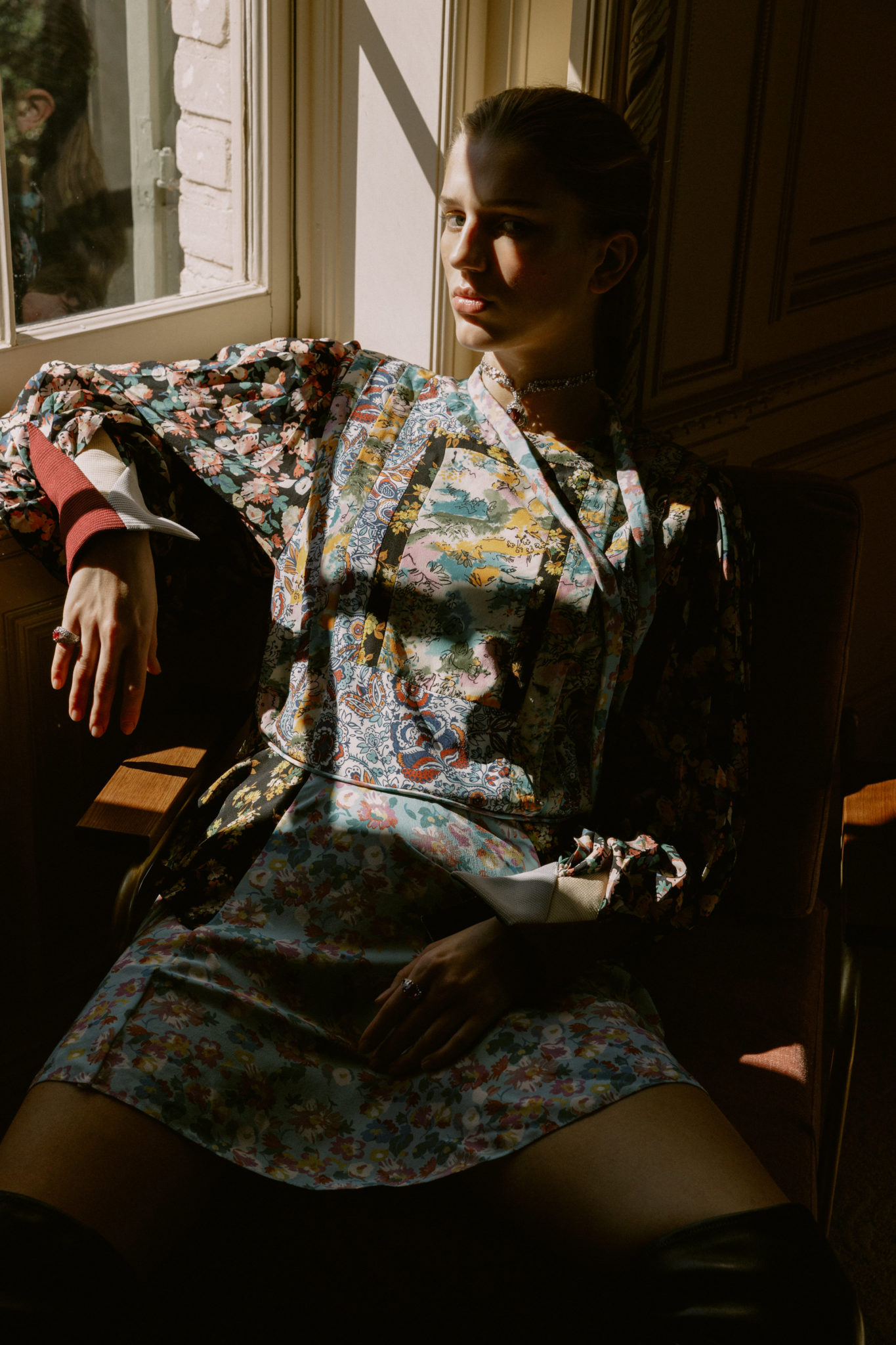 Heidi Tappis Harpers Bazaar x Louis Vuitton x Sabina Labova